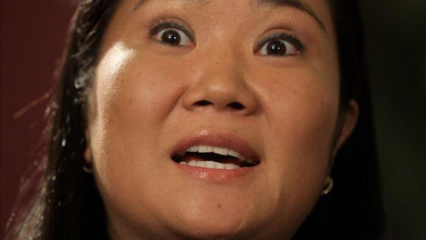 Keiko Fujimori calificó de cobarde a Humala por decir que su padre fue ladrón