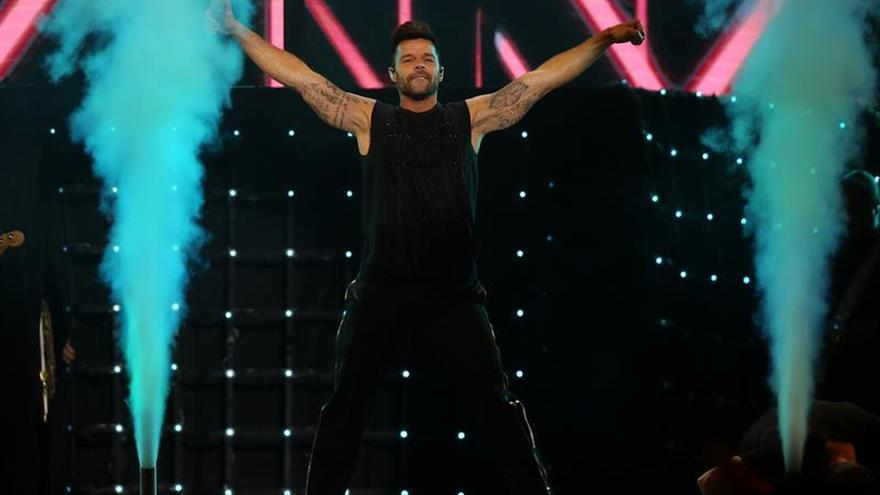 Ricky Martin vuelve a enamorar a La Paz después de 23 años