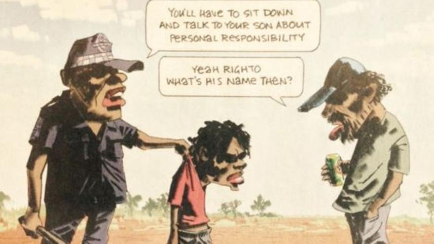 Viñeta publicada en 'The Australian'.
