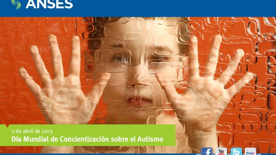 Cartel Día Mundial de Concientización sobre el Autismo