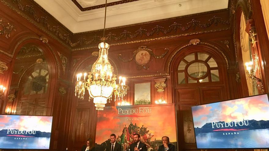 Presentación del proyecto en el Casino de Madrid FOTO: Teresa Sánchez