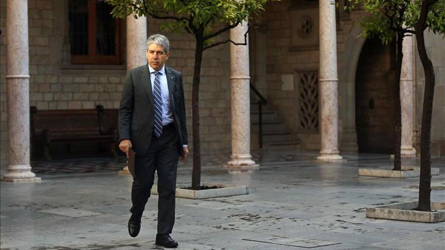 """Homs acusa a la CUP de """"suspender"""" el proceso y le exige una """"rectificación"""""""