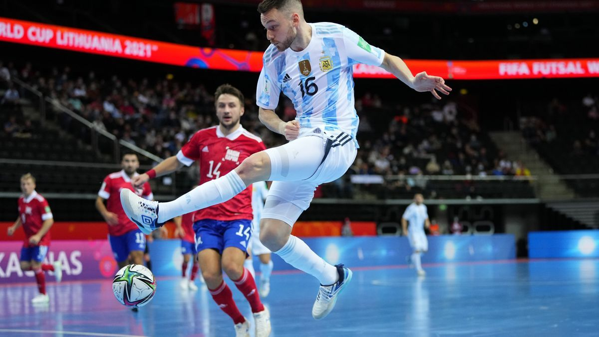 Argentina le ganó a Rusia por penales