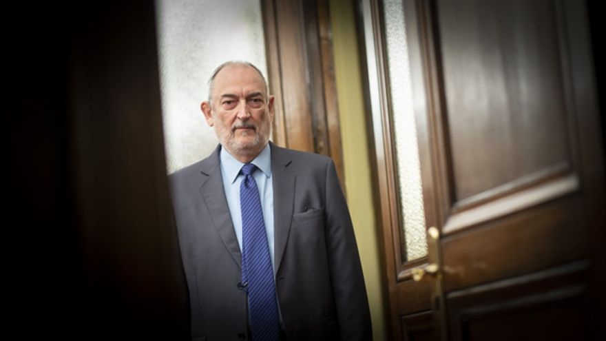El magistrado Rubén Blasco.