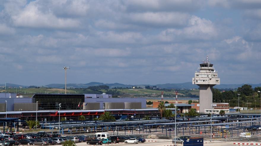 El aeropuerto Seve Ballesteros.