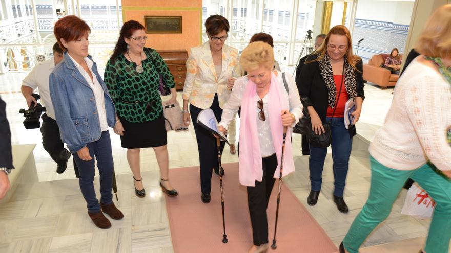 AFIBROCAR visitó la Asamblea Regional de Murcia