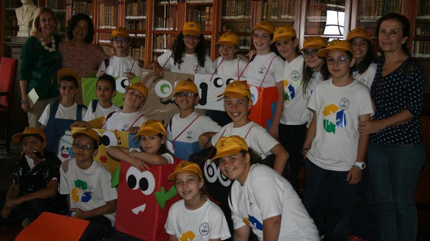 En la imagen, los alumnos de 5ª de Primaria del Colegio Anselmo Pérez de Brito.