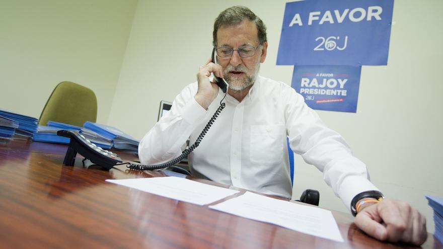 Trump llama a Rajoy un mes después de su elección y hablan del terrorismo y el 'Brexit'