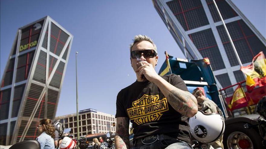 Más de mil Harley-Davidson conquistan las calles de Madrid