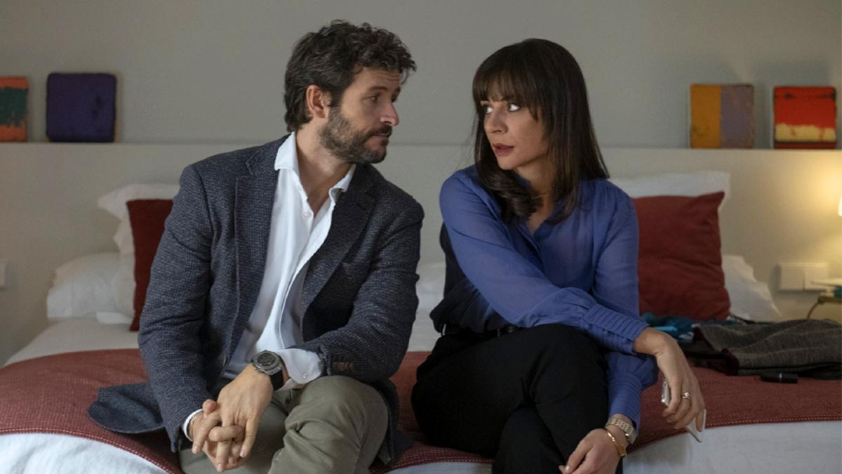 Diego Martín y Miren Ibarguren en 'Supernormal'