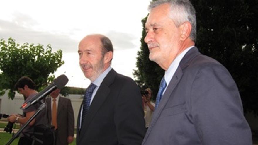 Alfredo Pérez Rubalcaba Y José Antonio Griñán