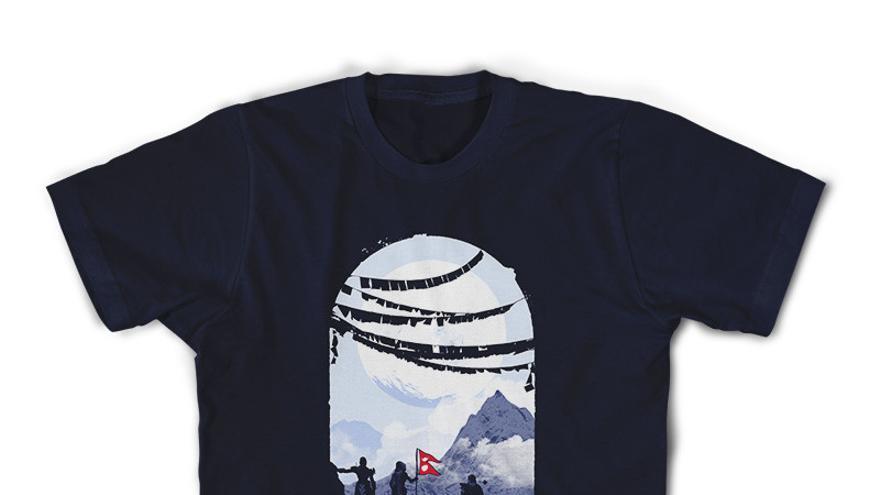 Bungie camiseta Nepal