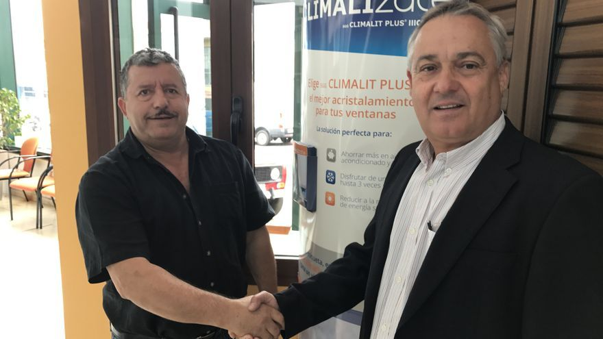 Eloy Armas (i) y Carlos Camacho.