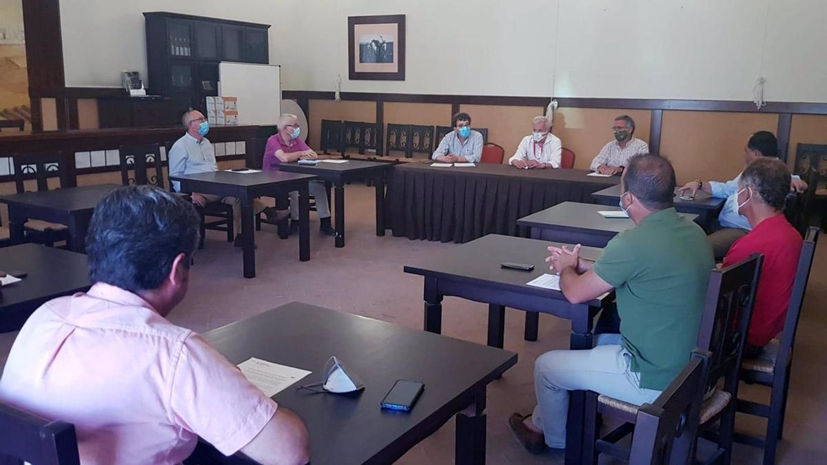 Reunión de las cooperativas vitivinícolas del marco Montilla-Moriles con la DO.