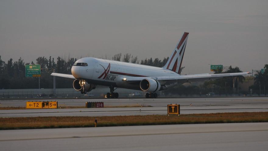 Vista general del aeropuerto internacional de Miami.