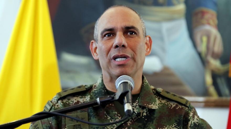 El comandante del Ejército de Colombia, general Eduardo Zapateiro.