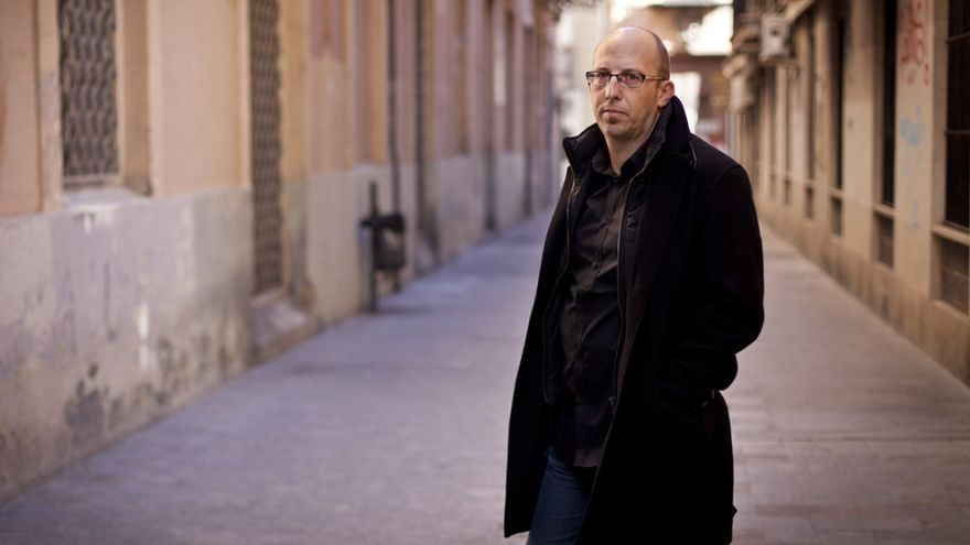 El escritor Santiago Álvarez