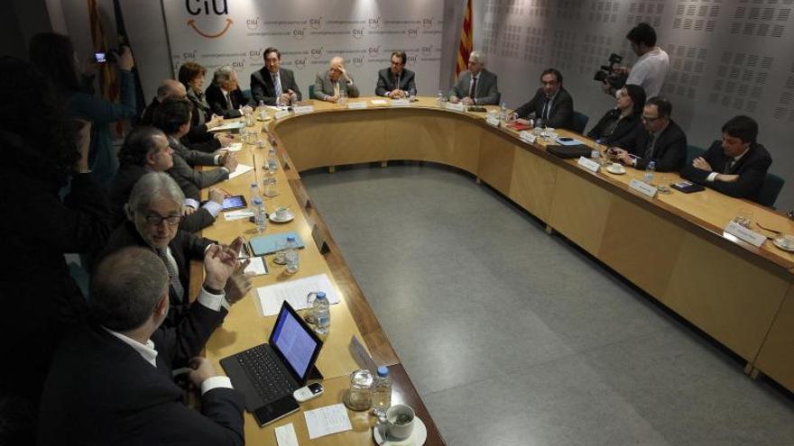 """CiU avisa al Gobierno de que su """"monólogo del no"""" lleva al """"choque de trenes"""""""