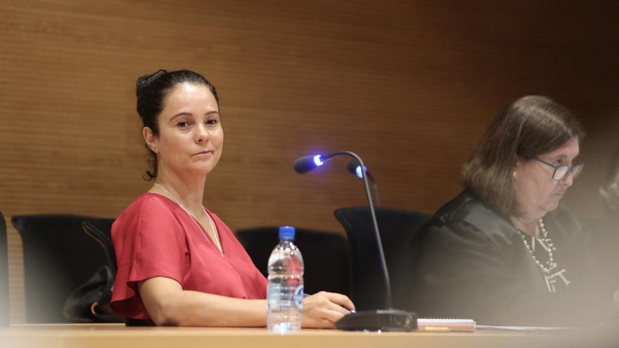 La sargento del Seprona Gloria Moreno, en el juicio
