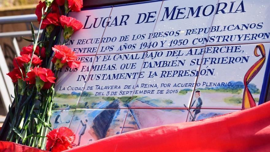 homenaje a los presos que construyeron el canal del Alberche