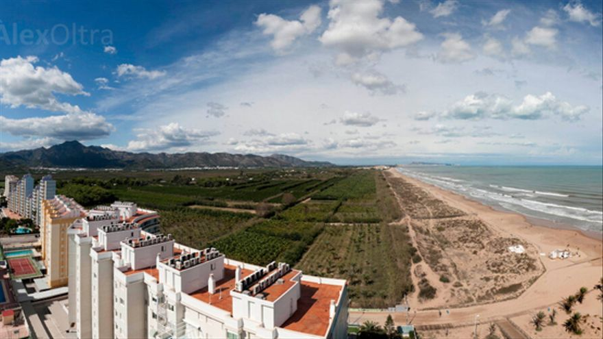 Playa de L´Auir, en Gandia. Foto: Change.org