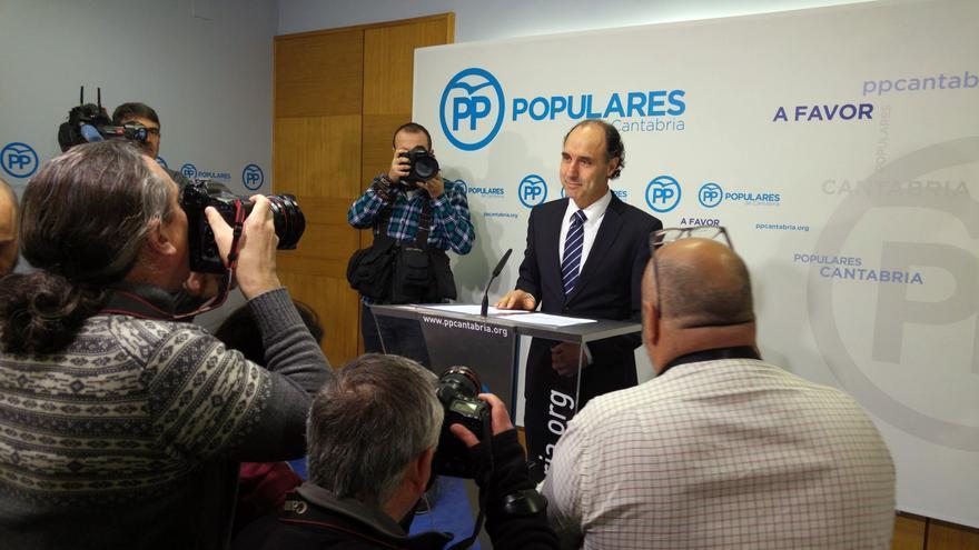 Ignacio Diego anuncia que optará a la reeleción como presidente del PP cántabro