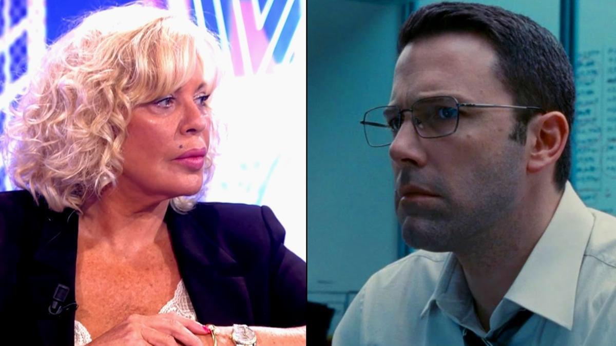 Bárbara Rey / Ben Affleck en 'El contable'