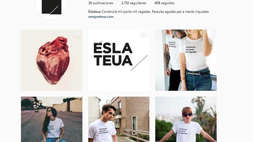 Perfil de Instagram de 'Eslateua'