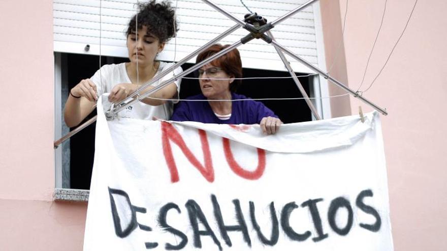 Más de 29.000 familias en apuros evitarán un desahucio hipotecario hasta 2024