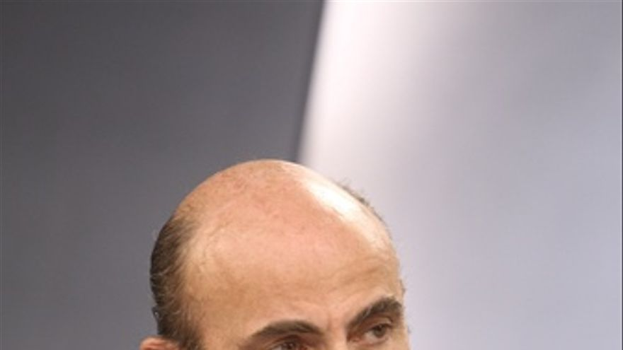 Luis de Guindos tras el Consejo de Ministros. (EUROPA PRESS)