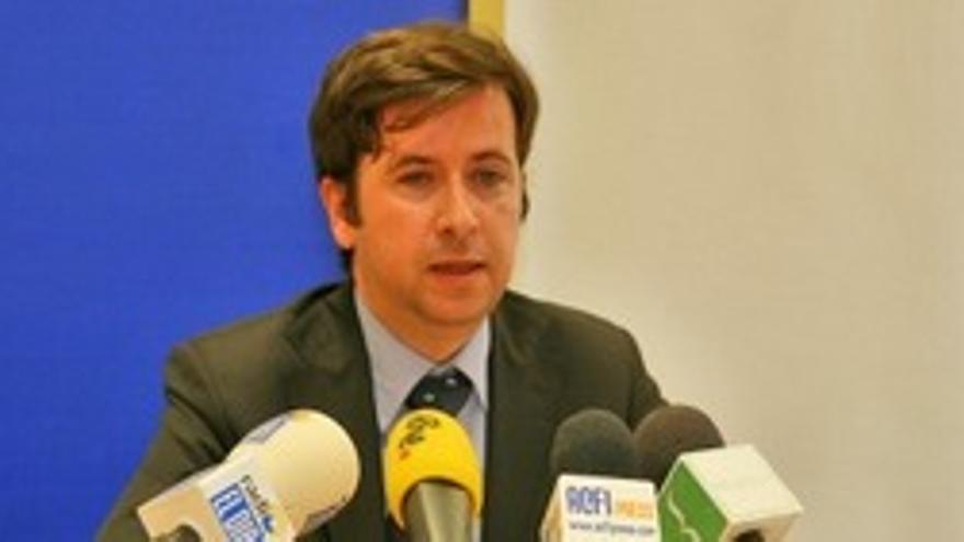El vicepresidente segundo del Cabildo de Tenerife, Carlos Alonso. (ACFI PRESS)