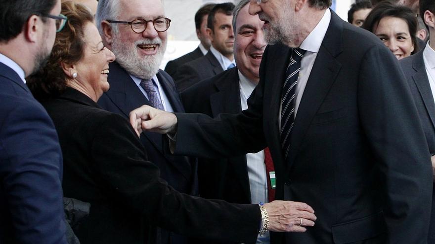 EL PP se une en torno a Barberá meses después de que su investigación judicial dividiera a la cúpula del partido