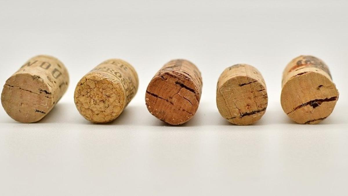 Tapones de vino de corcho