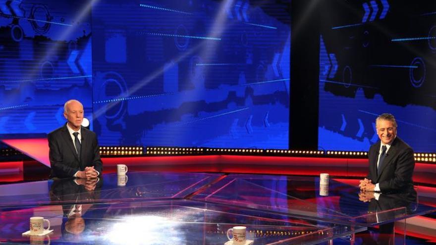 Los candidatos a la presidencia en Túnez protagonizan un inédito debate en TV
