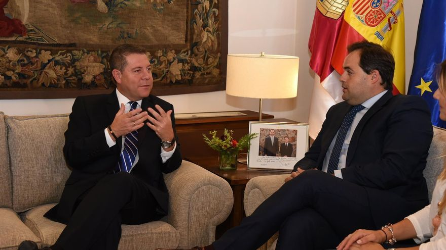 Reunión entre Emiliano García-Page y Paco Núñez
