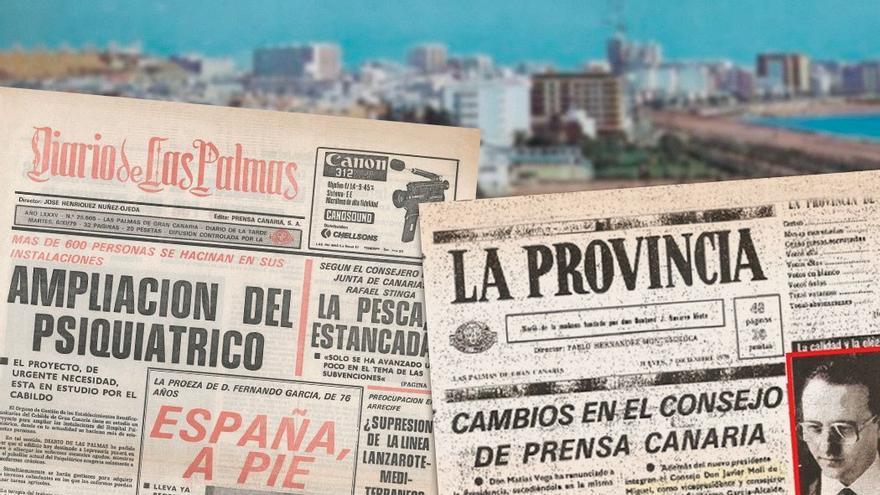 Portadas de los diarios La Provincia y Diario de las Palmas. (CA).