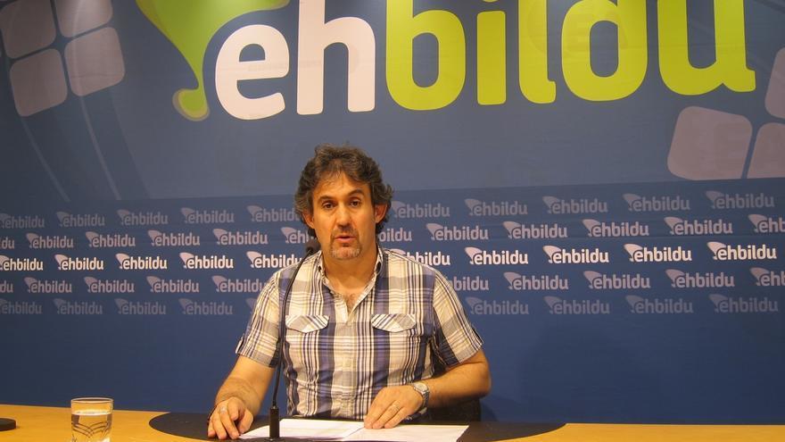 """EH Bildu cree que la agresión de Andoain """"no tiene que ver con temas políticos"""" y demuestra el """"nerviosismo"""" del PNV"""
