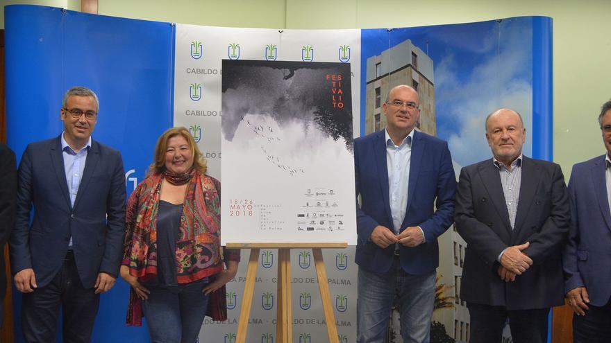Rueda de prensa de la presentación de la XIII edición del Festivalito.