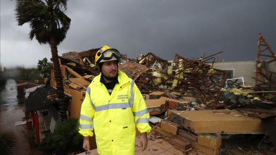 Cuatro muertos y un desaparecido por las inundaciones en el sur de Francia
