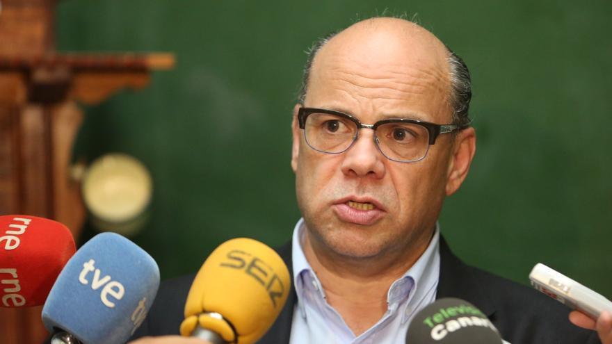 El secretario general de Coalición Canaria (CC), José Miguel Barragán