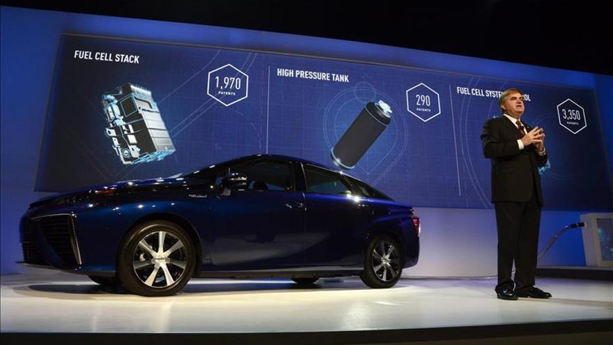 Toyota libera de derechos sus patentes de pilas de hidrógeno para automoción