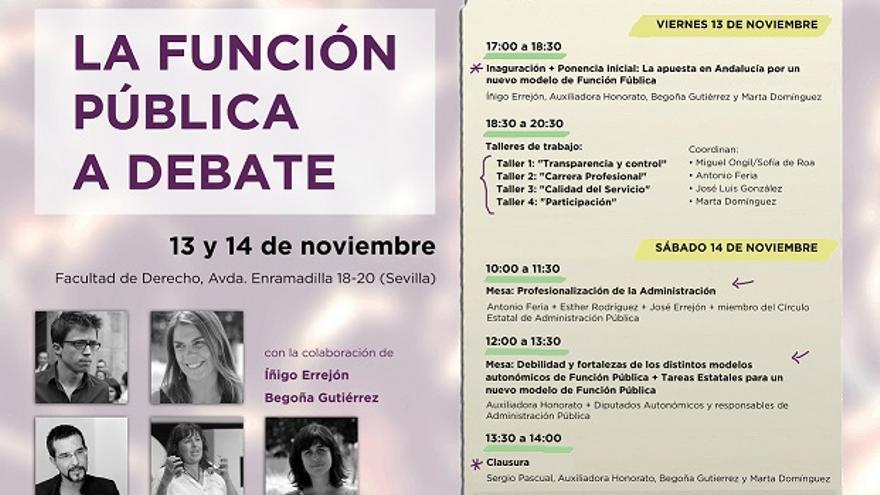 La Función Pública a debate en Andalucía