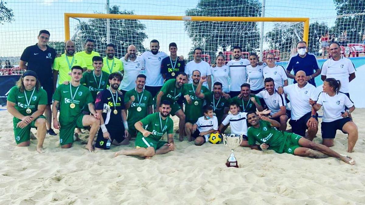 La selección cordobesa, tras proclamarse campeona de Andalucía