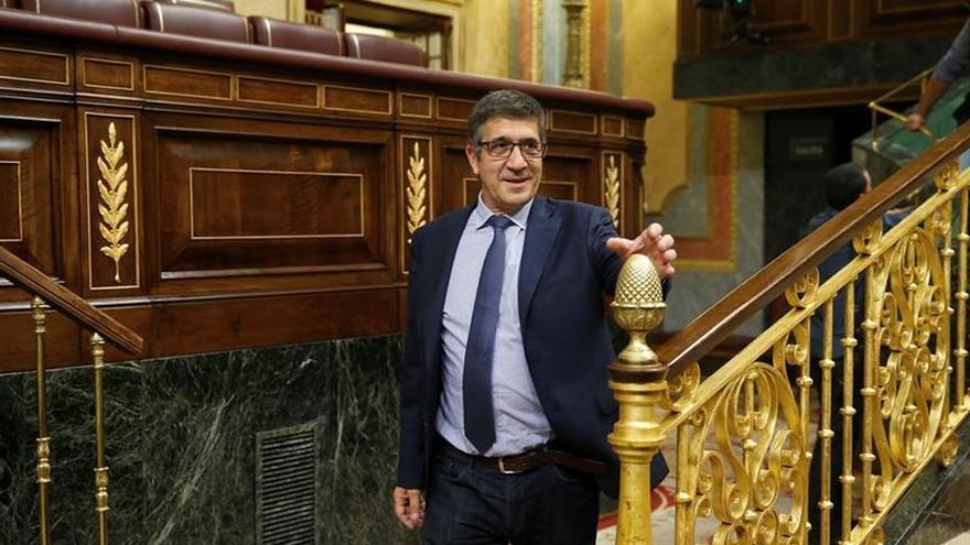 "Patxi López: ""Me duele el PSOE"""