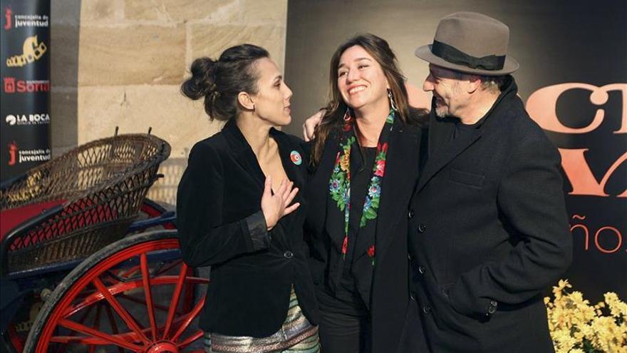 El certamen de cortos Ciudad de Soria homenajea a la actriz Lola Dueñas
