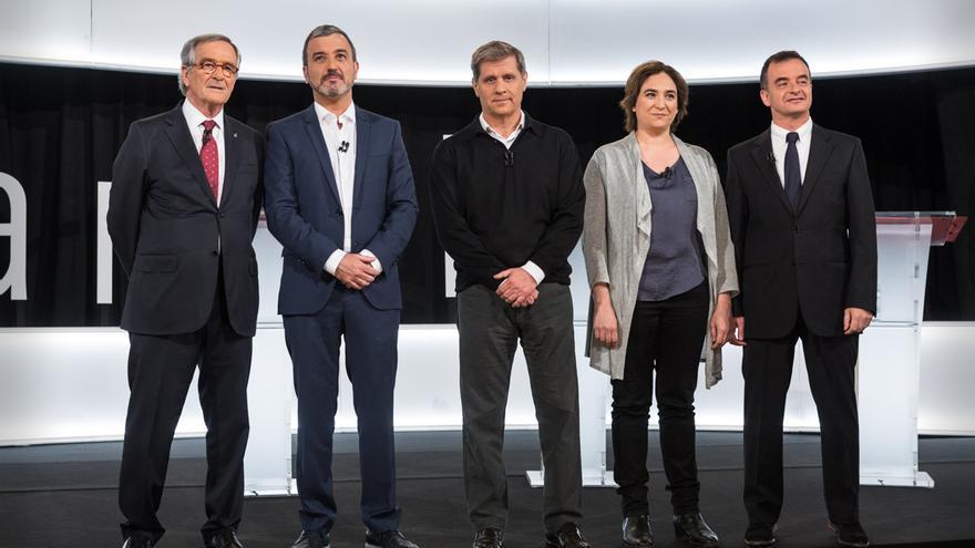 Debat entre els alcaldables de Barcelona organitzat per la FAVB y BTV / ENRIC CATALÀ