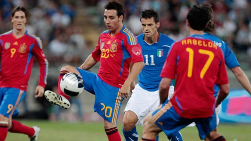 Italia-España, el amistoso más potente del año con un 35% de cuota y 3.7 millones