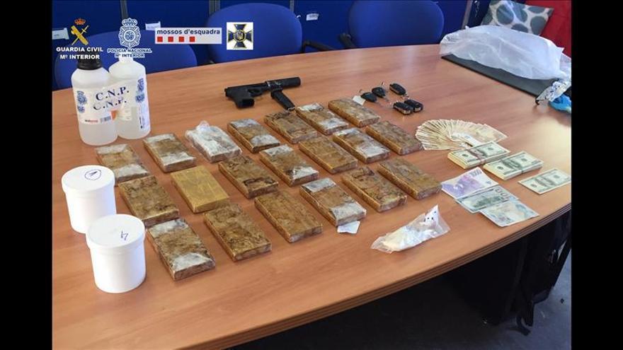 Detenidos 35 narcotraficantes y confiscados 83 kilos de heroína