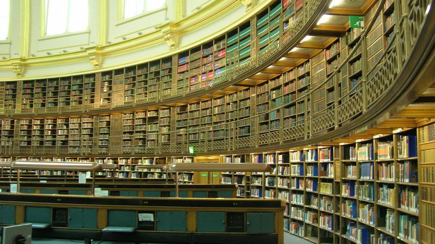 La Sala de lectura del Brittish Museum.