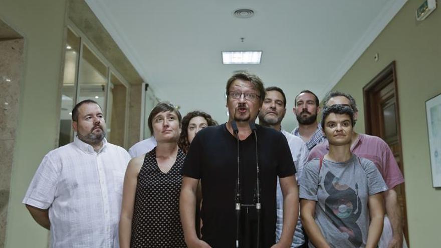 """Domènech cree que el grupo con Podemos y En Marea fue una """"buena experiencia"""""""